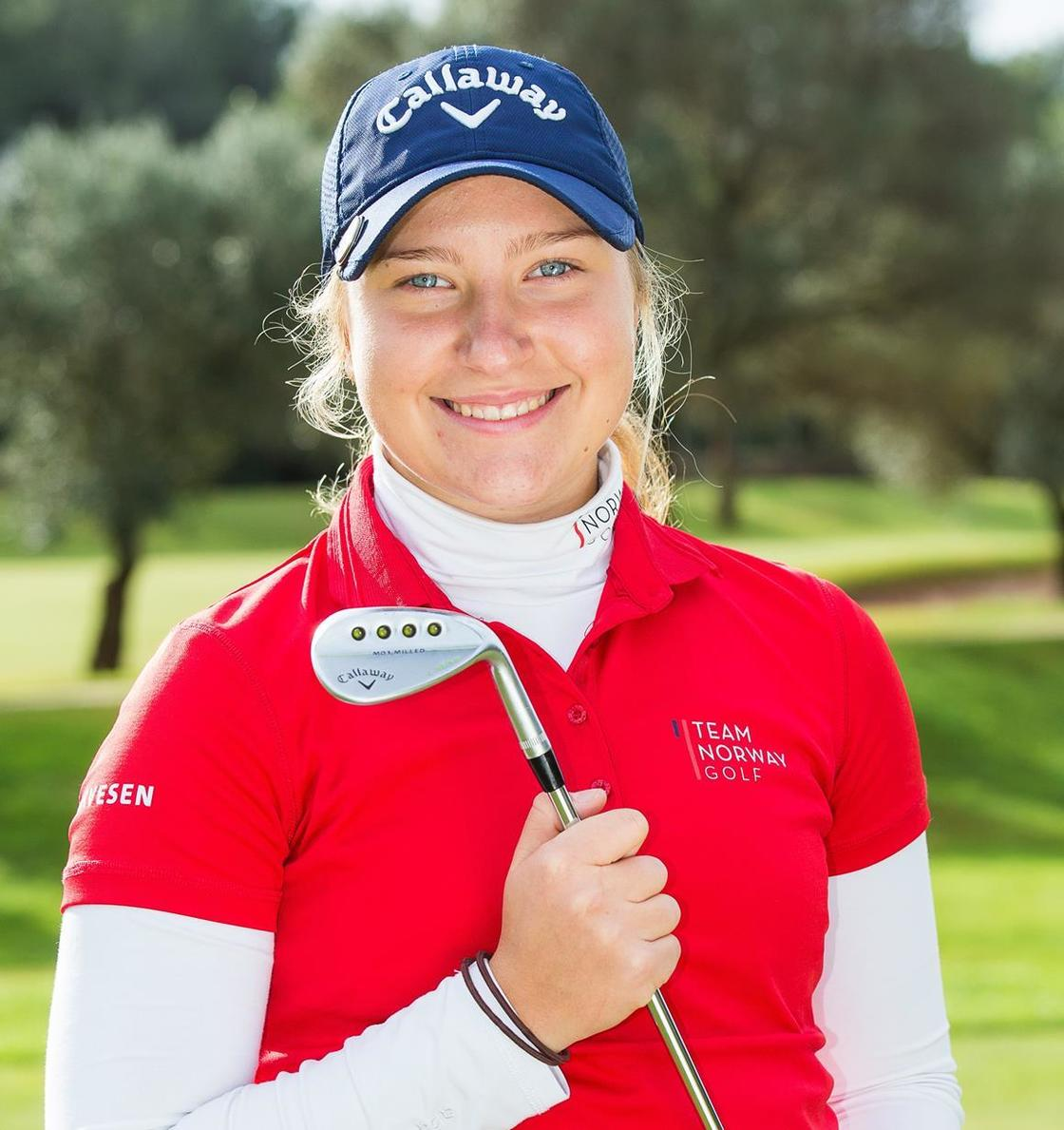 Team Norways Madelene Stavnar er en av flere Callaway-spillere i 2017 (foto: Ladies European Tour)
